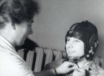 Адиля Рамеева и Юрий Гагарин